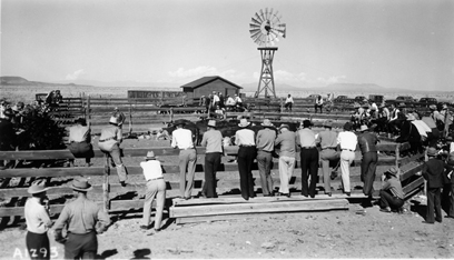 1939 Photo of Ranch Day.